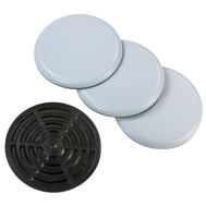Magic Sliders 4100 Round 4 Inch 100 MM Furniture Sliders Pack Of 4