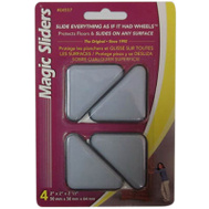 Magic Sliders 04557 2 Inch By 2 Inch By 2-1/2 Inch Triangular Slider Pack Of 4