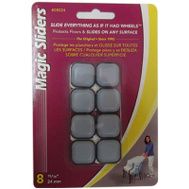 Magic Sliders 8024 15/16 Inch 24 Mm Square Sliders Pack Of 8