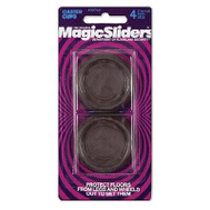 Magic Sliders 30715 4PK 5/8 Inch RND Caster Cup