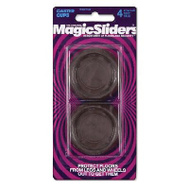Magic Sliders 39719 4PK 1- 11/16 Inch Caster Cup