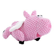 Worldwise Q770934 SM Check Flypig Dog Toy