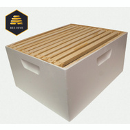 Harvest Lane Honey WWBCD-101 Beehive Box Deep Brood W/Frame