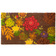 Trade Associates TFCOIR Tapestry Floral Rubber Backed Coir Mat 18 By 30 Inch