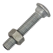 Stephens Pipe HD32020RP 3/8 Inch By 2 Inch Carriage Bolt