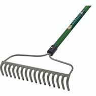 Landscapers Select 34583 Bow Rake 16 Tine Fiberglass Handle