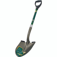 Landscapers Select 34599 D Handle Round Point Shovel Fiberglass