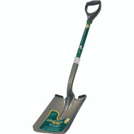 Landscapers Select 34600 D Handle Square Point Shovel Fiberglass