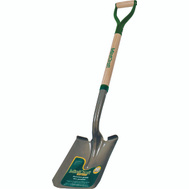 Landscapers Select 34594 D Handle Square Point Shovel Wood Handle