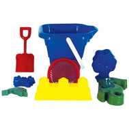 Water Sports 81060-1 8PC Bucket/Shovel Set