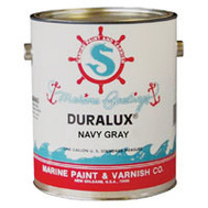 California Products M723-1 Duralux Navy Gray Gloss Marine Enamel Gallon Oil Based