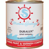 California Products M738-4 Duralux Gloss Marine Spar Varnish Quart Oil Based