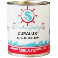 California Products M744-4 Duralux Signal Yellow Gloss Marine Enamel Quart Oil Based
