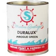 California Products M746-1 Duralux Camouflage Pirogue Green Matte Finish Marine Enamel Gallon Oil Based