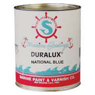 California Products M748-4 Duralux National Blue Gloss Marine Enamel Quart Oil Based