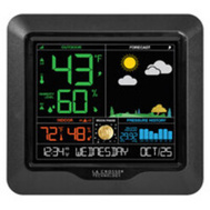 La Crosse 308-1416-TBP Weather Station W/Color Displa
