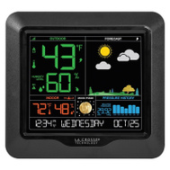 La Crosse S84107 Weather Station W/Color Displa