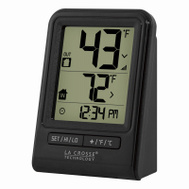 La Crosse 308-1409BT-CBP Weather Station Temp With Time