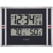 La Crosse 513-149 Atomic Clock Indoor/Outdoor Temperature With Trend Arrow