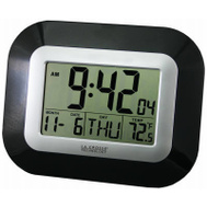 La Crosse WT-8005U-B Atomic Wall Clock Digital