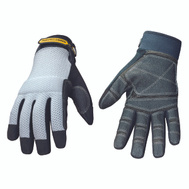 Youngstown Glove 04-3070-70-L Mesh Top Reinforced Palm Gloves Large