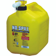 No Spill 1457 Diesel Gas Can 5 Gal Yellow
