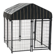 Jewett Cameron CL 60445 Kennel Dog Wdwr W/Cvr 52inx4ft