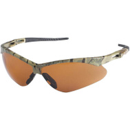 Jackson Safety 19644 Nemesis Glasses Safety Camo W/Amb Lens