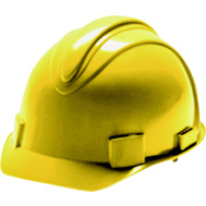 Jackson Safety 3013370 Charger Hardhat Yellow 4 Point Ratchet