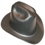 Jackson Safety 3007313 Hat Hard Black Western Ratchet