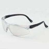 Jackson Safety 14475 Viso Black Safety Glasses With Blue Lens