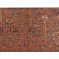 ACP D6018 18 By 24 Inch Backsplash Panel Moonstone Copper