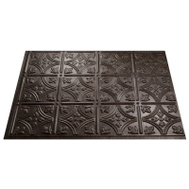 ACP D6027 Backsplash Trad1 Smoked Pewter