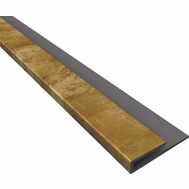 ACP 92317 Back Splash And Ceiling Panel J-Trim Edge 18 Inch Bronze