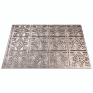 ACP F5021 18 Inch By 24 Inch Silver Backsplash