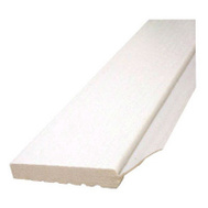 Inteplast Building Products 236007706 White Garage Door Weatherstrip 3/8 Inch By 2 Inch By 7 Foot