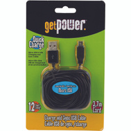 Aries GP-XL-USB-M Cable Micro Usb Get Power 12Ft