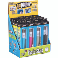 Aries GP-DIS-PICSTICK GetPower 16 Getpower Bluetooth Photo Sticks Countertop Display Pack