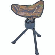 Ameristep AMEFT1002 Stool Tripod Swivel Camo 200 Pound