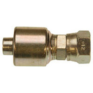 Gates G251700806 Megacrimp 8G 6Fjx Hydraulic Hose Fitting