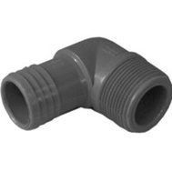 Boshart Industries 352814 1-1/4 Inch Poly Insert Combo Male Elbow Insert X MIP