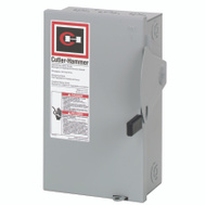 Cutler Hammer DG221NGB 30 Amp Fusible/Indr Safety Switch