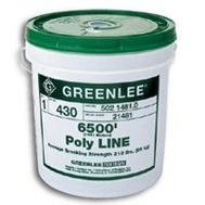 Greenlee 430 Wire Pulling Poly Twine Reuseable In Pail