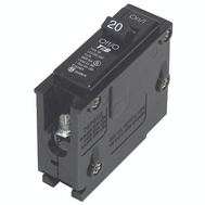 Siemens Q120 20 Amp 1 Inch Single Pole Circuit Breaker