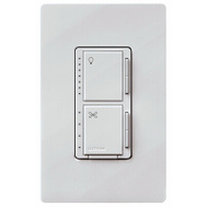 Lutron MACL-LFQH-WH Maestro Control Fan/Light F/Dmmr White