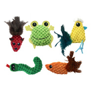 Multipet 20255 Knobby Knits Cat Toy