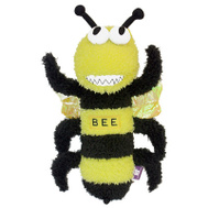 Multipet 27427 12 Inch Buzz Off Bee Dog Toy