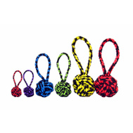 Multipet 29004 3.5 Inch Nuts Knot Rope Toy