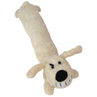 Multipet 47718 18 Inch Loofa Dog Toy Assorted
