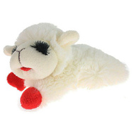 Multipet 48371 Mini Lamb Chop Dog Toy